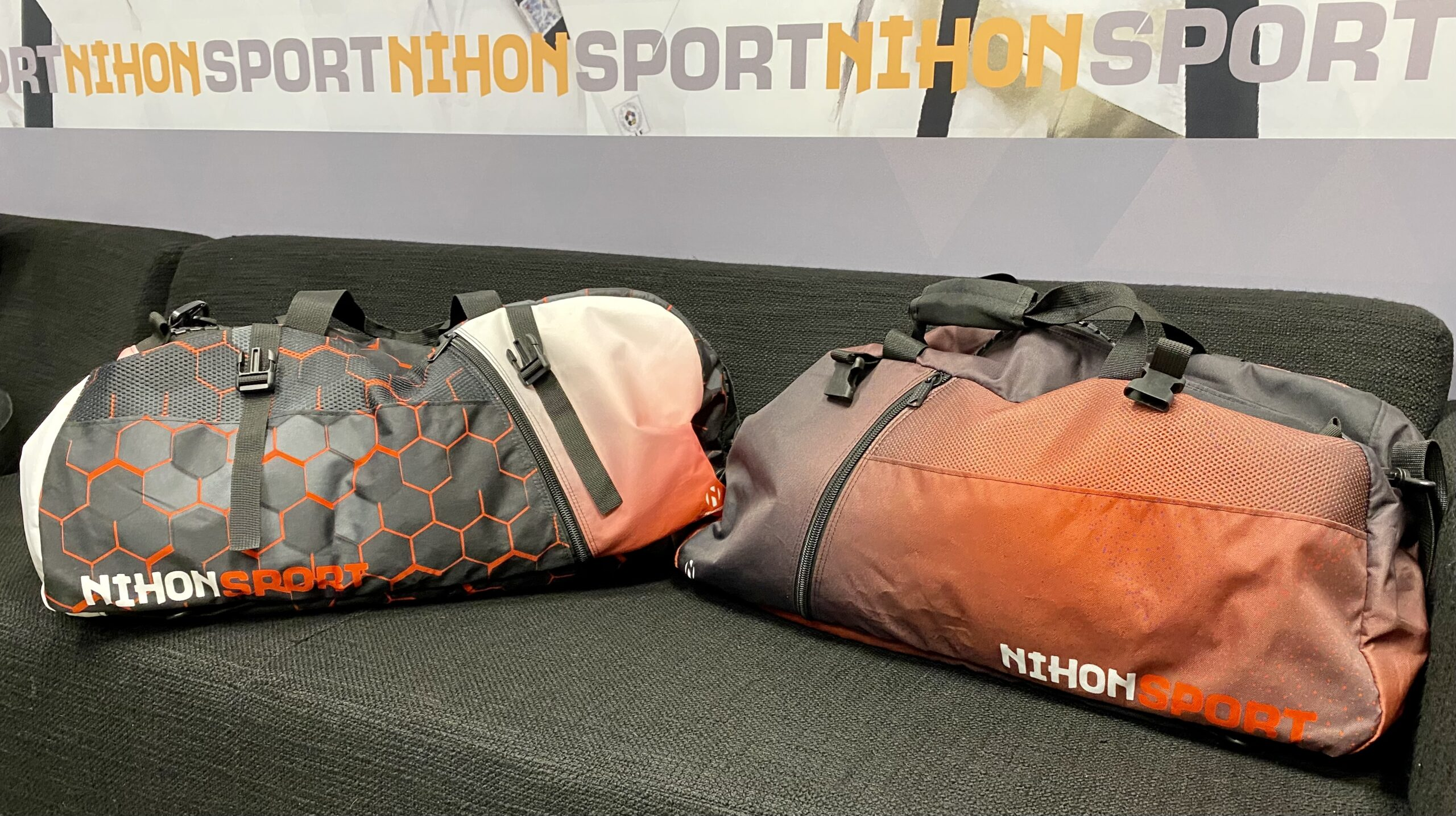 NIEUW: Sporttassen en rugzakken geheel naar uw ontwerp!